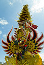 Balinese cremation tower Royalty Free Stock Images