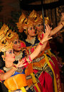 Balinese Dancers Royalty Free Stock Photo