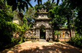 Balinese gate Stock Photography