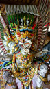 Balinese god from bali temple Stock Photography