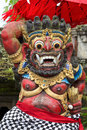 Balinese God statue in Central Bali temple Royalty Free Stock Image