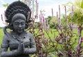 Balinese Hindu statue Royalty Free Stock Photo