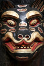 Balinese mask Stock Image