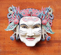 Balinese mask, traditional Royalty Free Stock Images