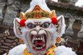 Balinese ogoh-ogoh monster at Balinese New Year , Indonesia. Royalty Free Stock Images