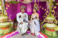 Balinese wedding Stock Photo