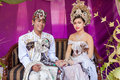 Balinese wedding Stock Images