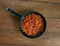 Balkan Baked Beans Royalty Free Stock Photo