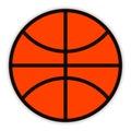 Ball basket Στοκ Φωτογραφίες