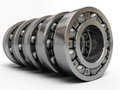 Ball bearing d render depth of field Royalty Free Stock Image