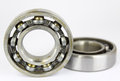 Ball bearing isolated on a white background Stock Photography
