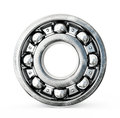 Ball bearing on a white background Royalty Free Stock Photos