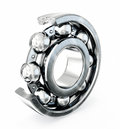Ball bearing on a white background Stock Image