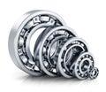 Ball bearings Royalty Free Stock Photo
