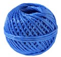 Ball of a blue cord Stock Photos