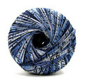 Ball of blue thread Stock Photo