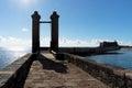 Ball Bridge in Arrecife Royalty Free Stock Photo