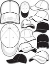 Ball Cap Collection Stock Image