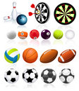 Ball collection Royalty Free Stock Photo