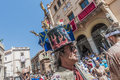 Ball de Diables at Festa Major in Sitges, Spain Stock Image