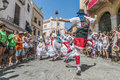 Ball de Gitanes at Festa Major in Sitges, Spain Stock Images