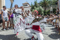 Ball de Pastorets at Festa Major in Sitges, Spain Royalty Free Stock Image