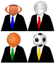 Ball head Royalty Free Stock Images