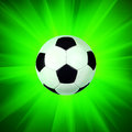 Ball on the light background Royalty Free Stock Images