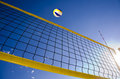 Ball net and the sky Stock Photography