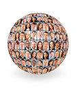 Ball and people Royalty Free Stock Image