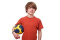 Ball player Royalty Free Stock Images
