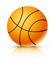 Ball for playing basketball game Stock Photography