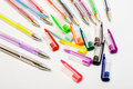 Ball-point pens Stock Images