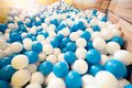 Ball pool at playground for kid Royalty Free Stock Photo
