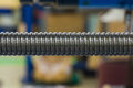 Ball screw shaft Stock Photography