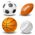 Ball set Stock Images