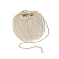 Ball of string against a white background Royalty Free Stock Image