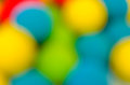 Ball toy blur Royalty Free Stock Image