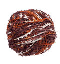 Ball of unusual yarn Royalty Free Stock Photos
