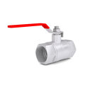 Ball valve isolated render on a white background Royalty Free Stock Images