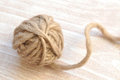 Ball of Yarn Royalty Free Stock Photos