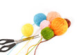 Ball of yarn Royalty Free Stock Photo