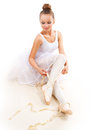 Ballerina. Ballet Dancer Stock Photo