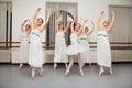 Ballerina dancers pose for recital photo beautiful Royalty Free Stock Photography