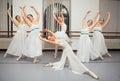 Ballerina dancers pose for recital photo beautiful Royalty Free Stock Photo