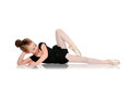Ballerine de petite fille Photo stock
