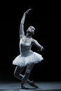 Ballet dancer-action Royalty Free Stock Photo
