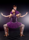 Ballet dancers Stock Photos