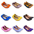 Ballet flat shoes-1 Royalty Free Stock Images