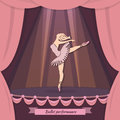 Ballet performance background